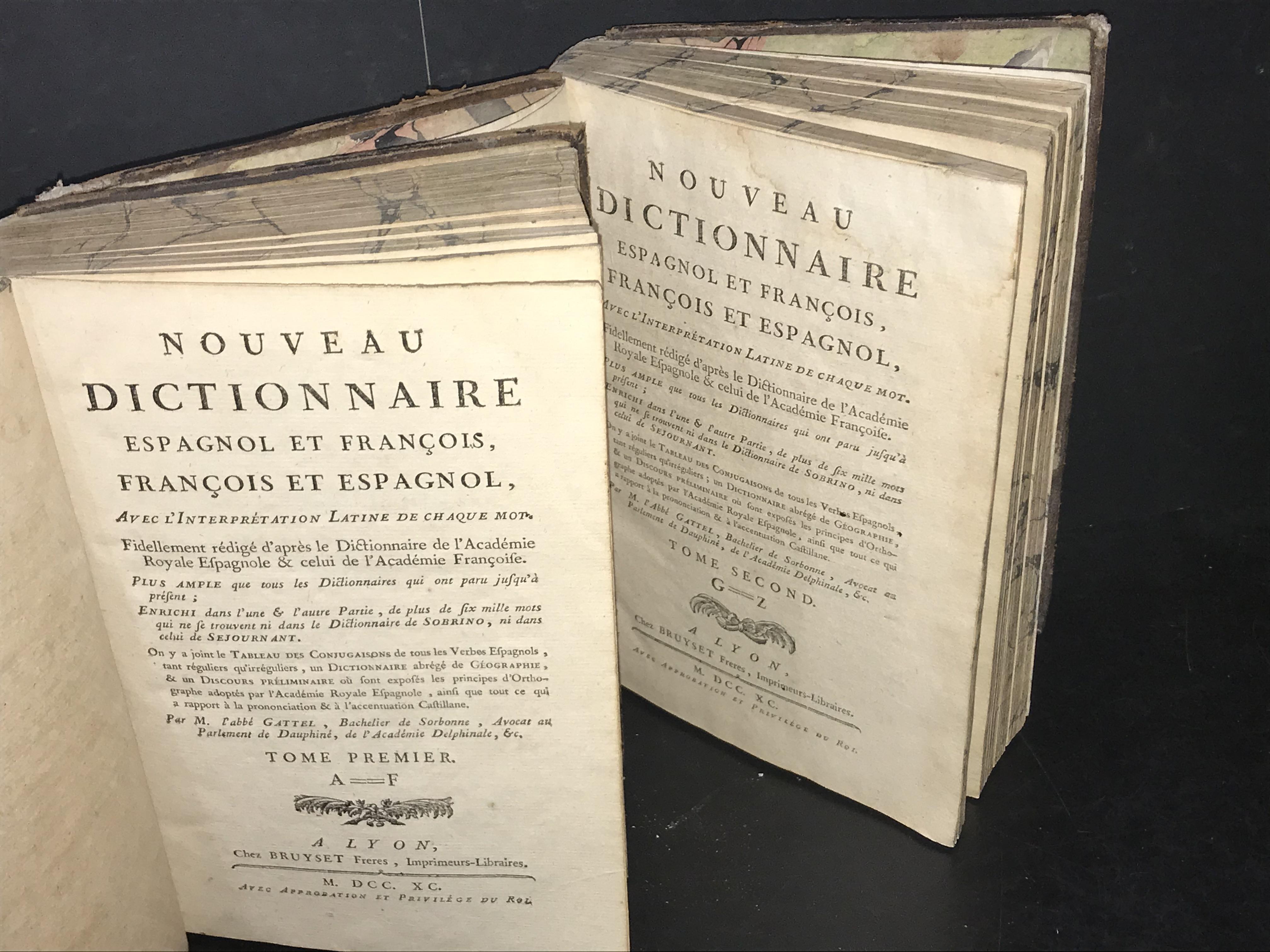 DICTIONNAIRE ESPAGNOL FRANCOIS / FRANCOIS ESPAGNOL