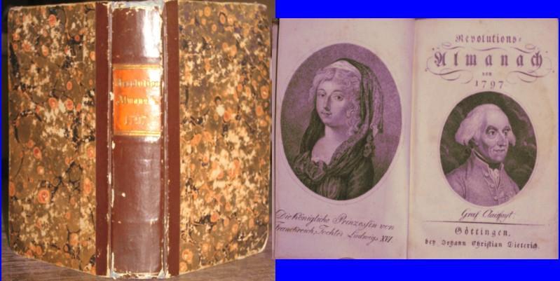 Revolutions-Almanach von 1797.
