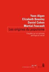 Les origines du populisme d'Yann Algan