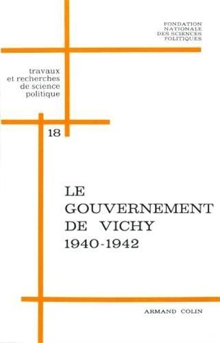 Le gouvernement de Vichy, 1940-1942