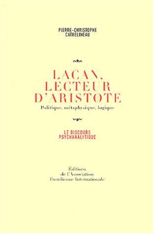 Lacan, lecteur d'Aristote
