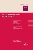 Droit patrimonial de la famille 2022/23 - 7e Ed.