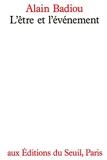 L'Être et l'événement (ORDRE PHILOS) - Format Kindle - 34,99 €
