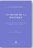 Le Monde de la Politique - Sur le récit atlante de Platon, Timée (17-27) et Critias