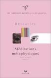 Méditations métaphysiques - Texte intégral, analyse by René Descartes (2000-01-05) - Hatier - 05/01/2000