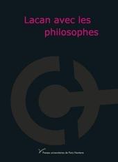 Lacan avec les philosophes d'Alain Badiou