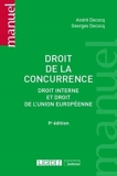 Droit de la concurrence - Droit interne et droit de l'Union européenne (2021)
