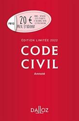 Code civil 2022 annoté. Édition limitée - 121e Ed. de Pascal Ancel