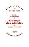 Histoire de la sexualité tome 2 - Gallimard - 15/06/1984