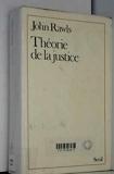 Théorie de la justice - Seuil - 01/02/1987