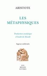 Les Métaphysiques d'Aristote