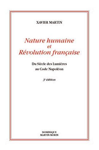 Nature humaine et Révolution française