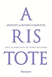 oeuvres complètes d'Aristote