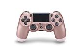 Sony Manette PlayStation 4 officielle, DUALSHOCK 4, Sans fil, Batterie rechargeable, Bluetooth, Rose Gold (Or Rose)