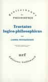 Tractatus logico-philosophicus by Ludwig Wittgenstein Gilles-Gaston Granger(1993-05-25) - Gallimard - 01/01/1993
