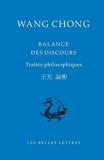Balance des discours - Traités philosophiques