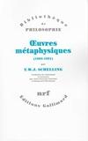 Oeuvres métaphysiques