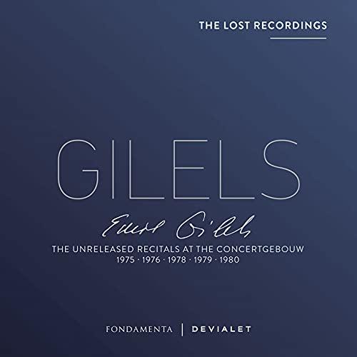 Unreleased Recitals at The Concertgebouw 1975, 1976, 1978, 1979, 1980 (Lost Recordings)
