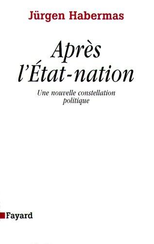 Après l'état nation