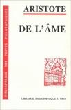 De l' Âme - VRIN - 01/01/1990