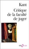 Critique de la faculté de juger de Emmanuel Kant ,Ferdinand Alquié (Traduction) ( 1989 ) - Gallimard (1989)