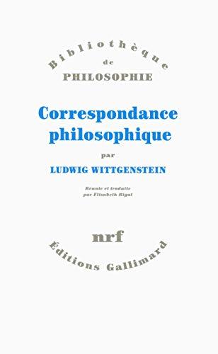 Correspondance philosophique