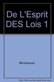 De l'esprit des lois by Montesquieu (1993-02-01) - Garnier - 01/02/1993