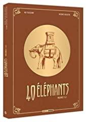 40 éléphants - Ecrin volumes 01 et 02 NED de Kid Toussaint