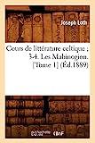Cours de littérature celtique 3-4. Les Mabinogion. [Tome 1] (Éd.1889)
