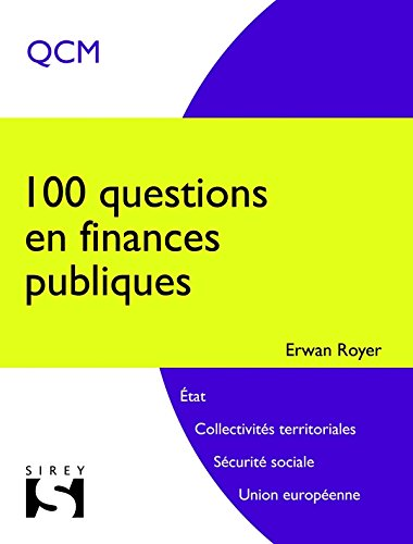 100 Questions En Finances Publiques