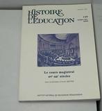 Histoire de l'education, n 120/2009. le cours magistral xve-xxe siec les - 1. Publics Et Savoirs