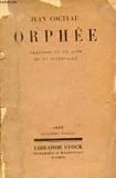 Orphee - Librairie Stock