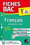 Fiches bac Français 1re générale & techno Bac 2022 - Nouveau programme de Première