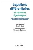 Equations différentielles et sytèmes dynamiques - Volume 1