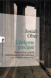 L'énigme grecque de Josiah OBER
