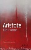 de L'Ame (Bibliotheque Des Textes Philosophiques - Poche) (French Edition) by Aristote(1995-07-01) - Librairie Philosophique J Vrin - 01/01/1995