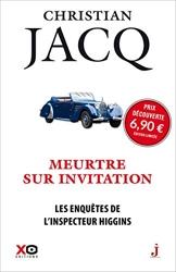 Les enquêtes de l'inspecteur Higgins - Tome 5 Meurtre sur invitation (édition limitée 2020) de Christian Jacq
