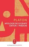Apologie de Socrate-Criton-Phédon - Le Livre de Poche - 01/09/1992