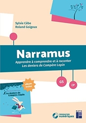 Narramus - Les deniers de Compère Lapin (+ album et CD-Rom) de Sylvie Cèbe