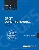 Droit constitutionnel - Conseils de méthodes. Sujets d'examens et exercices corrigés (2021)