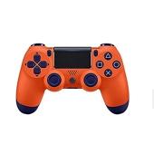 Manette sans fil Dual Shock 4 pour PS4 - Sunset orange