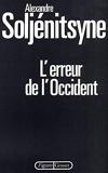L Erreur De L Occident - Grasset - 02/05/1980