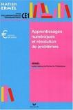 Apprentissages numériques au CE1, édition 2001 by ERMEL (2001-07-01) - Hatier - 01/07/2001
