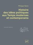 Histoire des idées politiques aux Temps modernes et contemporains.