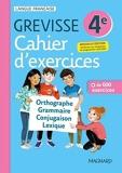 Cahier Grevisse 4e (2021) Français - 4e - Edition 2021