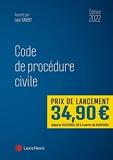 Code de procédure civile 2022 - À jour des réformes du divorce contentieux et de l'aide juridique. Code annoté autorisé à l'examen d'entrée au CRFPA.