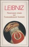 Nouveaux essais sur l'entendement humain - GF Flammarion - 01/01/1990