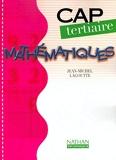Mathematiques - CAP Tertiaire - Nathan - 20/08/2002