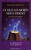 Ce que les morts nous disent - Presses du Châtelet - 10/11/2004