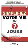 Simplifiez votre vie en 7 jours (DEV. PERSO POCH) - Format Kindle - 5,99 €